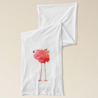 Tropischer rosa Flamingo-Schal Schal