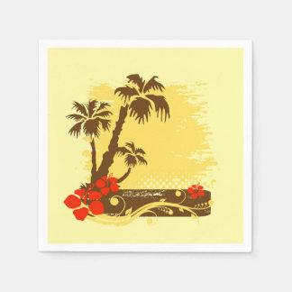 Tropischer Sommer Papierserviette