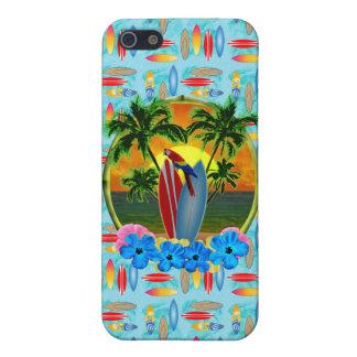 Tropischer Sonnenuntergang iPhone 5 Etuis