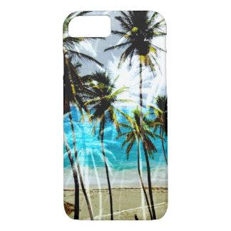 Tropischer Strand-Ozean kundenspezifischer iPhone iPhone 8/7 Hülle