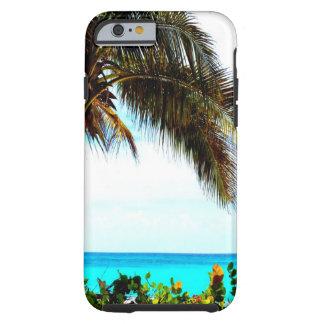 tropischer Strandkokosnußbaum Tough iPhone 6 Hülle