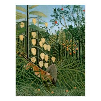 Tropischer Wald, Henri Rousseau Postkarten