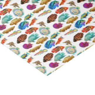 Tropisches Aquarium-Fisch-Seidenpapier Seidenpapier