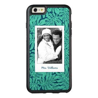Tropisches Blatt-Muster | addieren Ihr Foto u. OtterBox iPhone 6/6s Plus Hülle