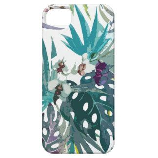 Tropisches Blumenmuster iPhone 5 Schutzhüllen