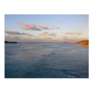 Tropisches Entweichen - nehmen Sie mir Postkarte