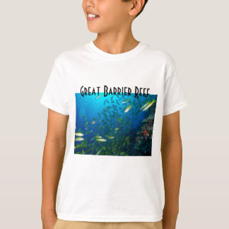 Tropisches Fisch-Great Barrier Reef Korallenmeer T-Shirt