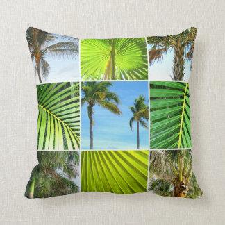 Tropisches Palme-Foto-Collagen-Kissen Kissen