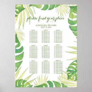 Tropisches Poster