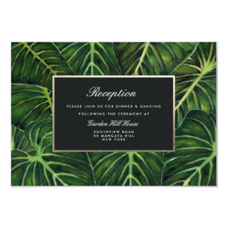 Tropisches Romance/Empfang Karte