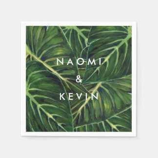 Tropisches Romance/Serviette Papierserviette