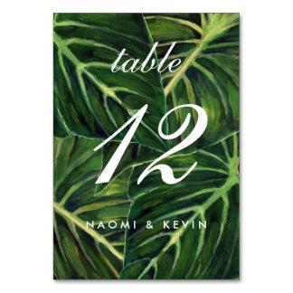 Tropisches Romance/Tabelle nein Karte