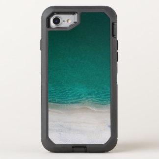 Tropisches Strand-Türkis-Meer OtterBox Defender iPhone 8/7 Hülle