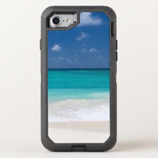 Tropisches Strand-Türkis-Wasser OtterBox Defender iPhone 8/7 Hülle