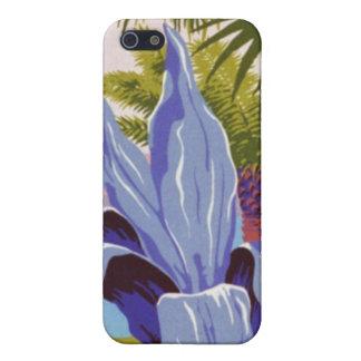 Tropisches Vintages iPhone 5 Etui