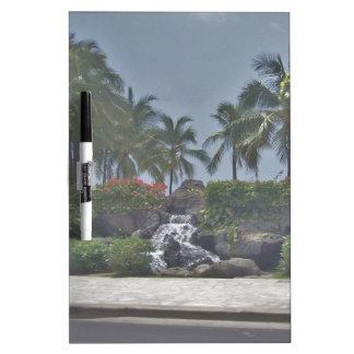 Tropisches Whiteboard