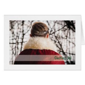 Troth-Weihnachten-Karte:: Klaas Karte