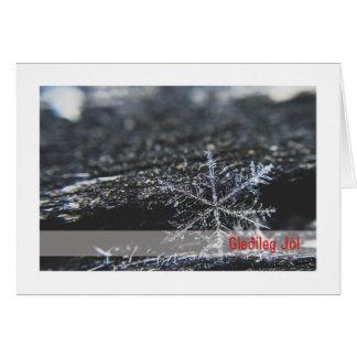 Troth-Weihnachten-Karte:: Schneeflocke (EIS) Karte