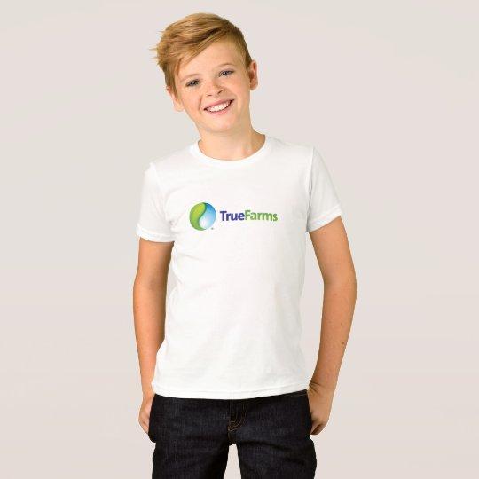 TrueFarms Logo-Kinder T-Shirt