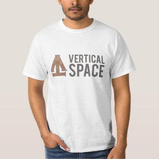 TrueVanguard - vertikales Raum-Shirt T-Shirt