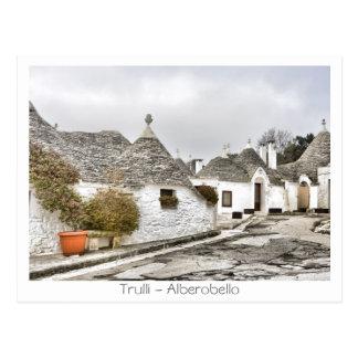 Trulli - Alberobello Postkarte