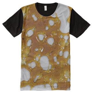 Trümmer-Shirt T-Shirt Mit Komplett Bedruckbarer Vorderseite