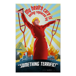 TrumpCare Propaganda-Plakat Poster