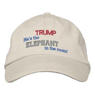 TRUMPF der Elefant im Raum! Bestickte Baseballkappe