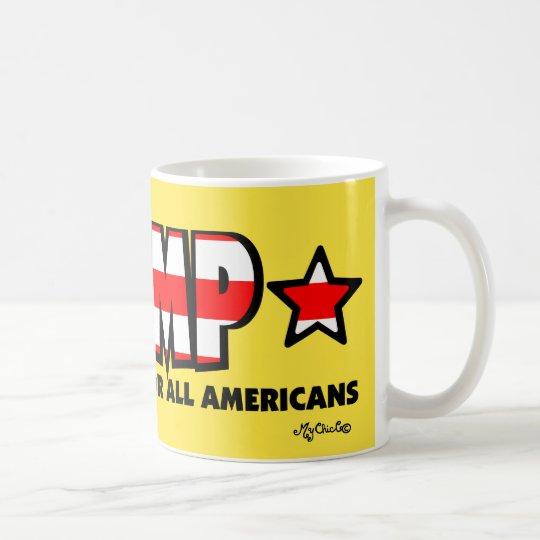 Trumpf! Ein besseres Amerika für alle! Tasse
