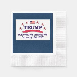 Trumpf-Einweihung Papierserviette