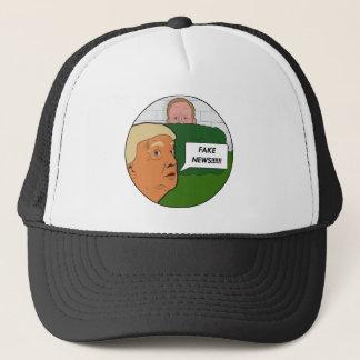 Trumpf-Fake-Nachrichten Truckerkappe