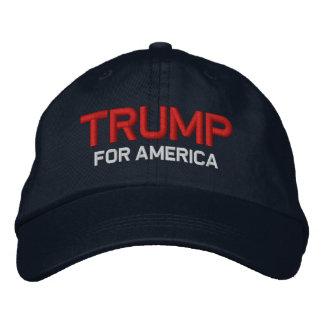 Trumpf für Amerika Bestickte Kappe