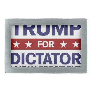Trumpf für Diktator Rechteckige Gürtelschnalle