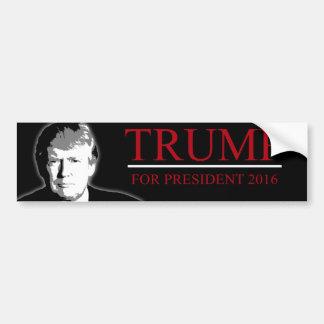 Trumpf für Präsidenten 2016 Autoaufkleber