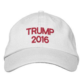 Trumpf für Präsidenten 2016 Bestickte Kappe