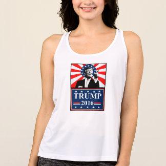 Trumpf für Trägershirt Präsidenten-Womens Tank Top