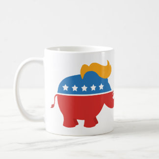 Trumpf GOP-Elefant Kaffeetasse