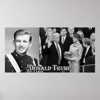 Trumpf in New York MilitärAcad u. dann US Pres. Poster