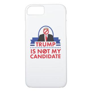 Trumpf nicht mein KandidateniPhone Fall iPhone 8/7 Hülle