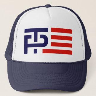 Trumpf-Pennys-Kampagnen-Logo Truckerkappe