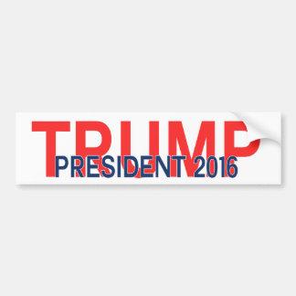 Trumpf-Präsident 2016 Autoaufkleber