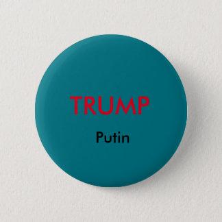 Trumpf-/Putin-Knopf Runder Button 5,1 Cm