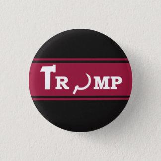 TRUMPF-RUSSE-SOWJET RUNDER BUTTON 3,2 CM