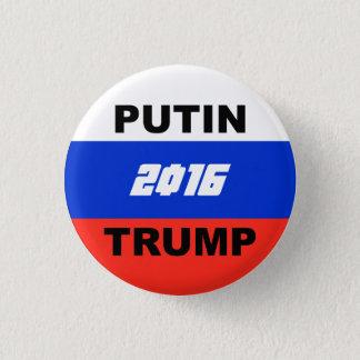 """Trumpf-Satirical Kampagnen-Knopf (""""Mutterland"""" Runder Button 2,5 Cm"""