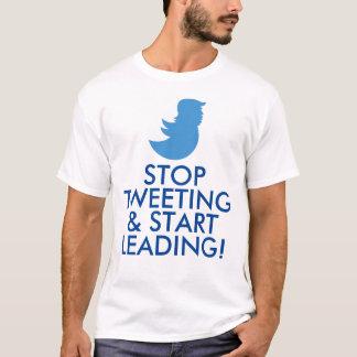 """Trumpf-T - Shirt: """"STOPPEN SIE ZU TWEETEN U. T-Shirt"""
