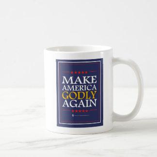 Trumpf - Tasse: Machen Sie Amerika göttlich wieder Kaffeetasse