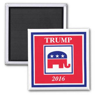 TRUMPF Wahl 2016 Quadratischer Magnet