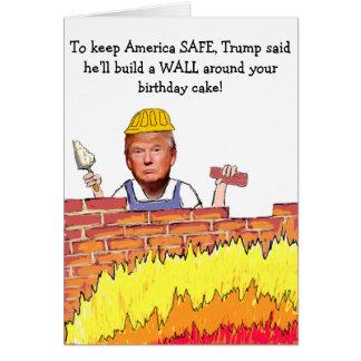 Trumpf-Wand-Geburtstags-Karte Grußkarte