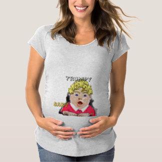 Trumpy Baby - MutterschaftsShirt Schwangerschafts T-Shirt