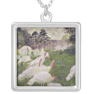 Truthähne Claude Monets | bei Chateau de Versilberte Kette